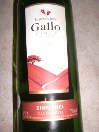 Gallo Family – Zinfandel 2006