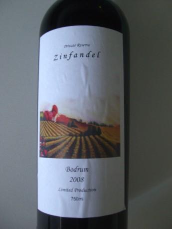 Private Reserve Zinfandel / Bodrum 2008 Limited Production