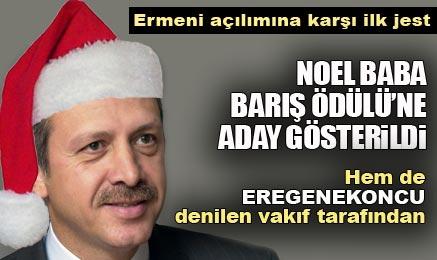 Noel Baba Barış Adayı Başbakanım :)