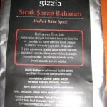 Gizzia Sıcak Şarap Baharatı