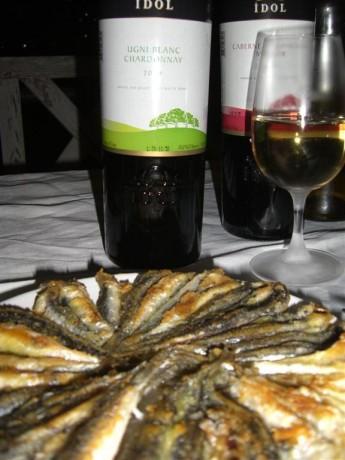 Hamsi Tava ve Chardonnay - İdol Ugni Blanc – Chardonnay 2009