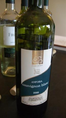 Pamukkale Anfora Sauvignon Blanc 2009