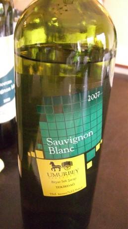 Umurbey Sauvignon Blanc 2008