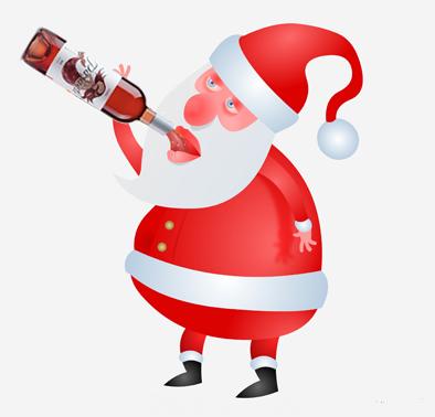 Noel Baba bile Paşaeli içiyor :)